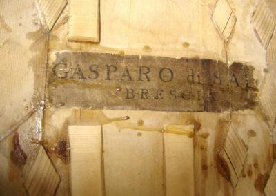 Renovation of Gasparo da Salo, Brescia c. 1590